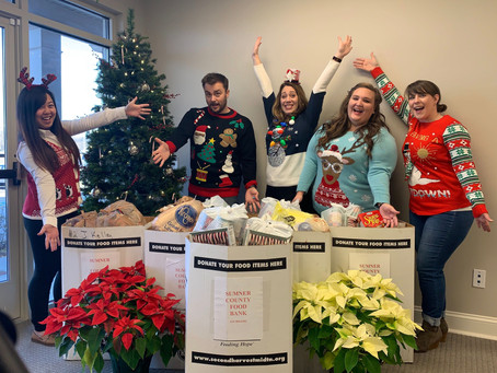 Heritage Law Group, PLLC Hosted A Successful 2nd Annual Community-Wide Food Drive in Gallatin, Tenne