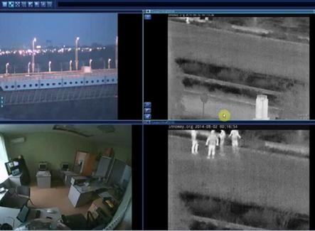 Как тепловизионные камеры Axis улучшают ваше решение для наблюдения.
