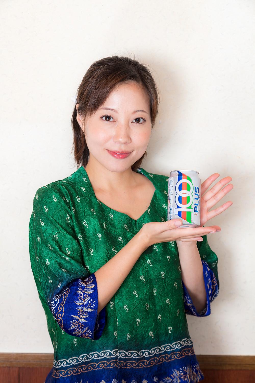 福田明日香アンバサダー飲み物