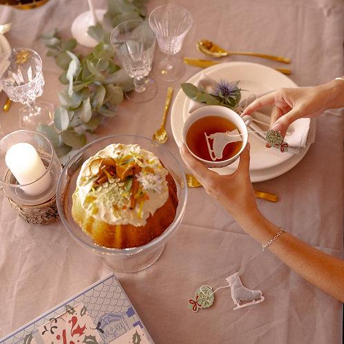 Thé - Patin à glace - lot de 5 sachets