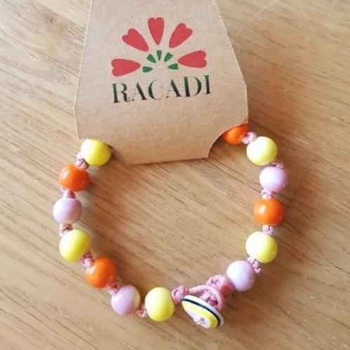 Bracelet de perles en céramique - 8mm