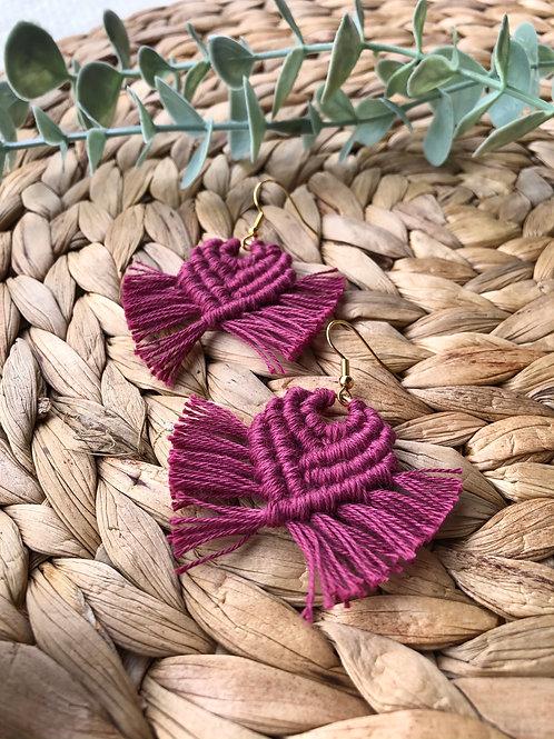 Boucles d'oreilles (couleur à choix)