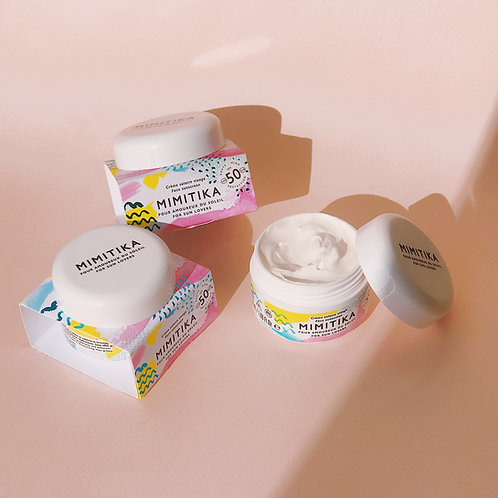 Crème visage SPF50