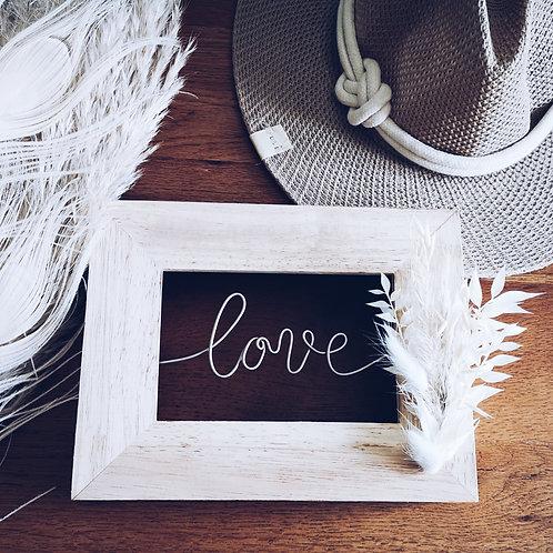 Petit cadre d'amour LOVE