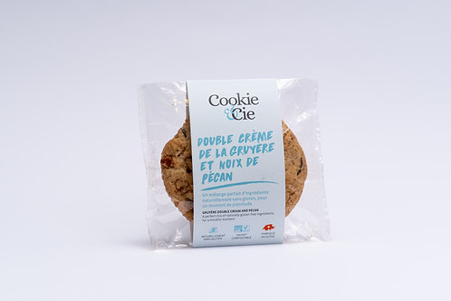 """Cookie """"Double crème de gruyère et noix de pécan"""""""