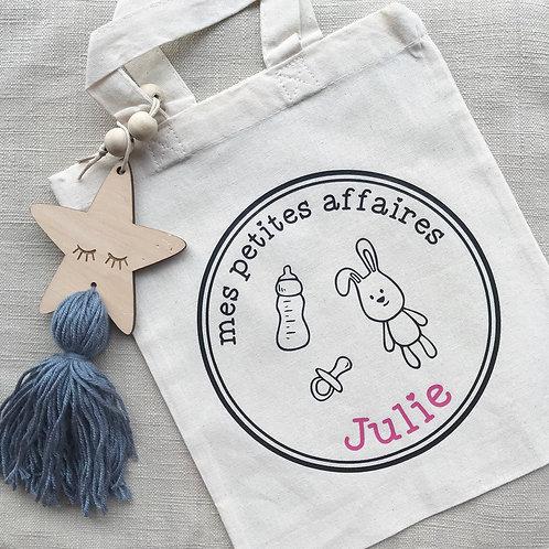 Mini sac (tote bag) - Mes petites affaires