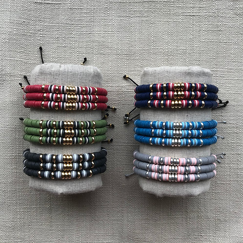 Bracelets Heishi
