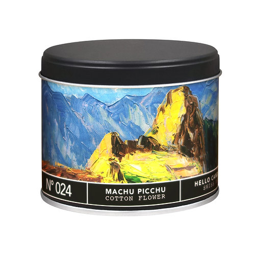 Machu Picchu Cotton Flower