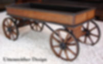 Paris Coaster wood toy wagon