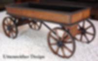 Paris Coaster wood toy wagon