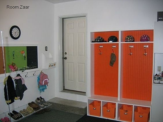 Get organized with a garage mud room