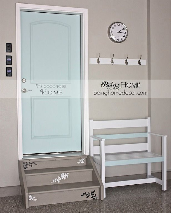 Simple DIY Garage Mudroom Ideas