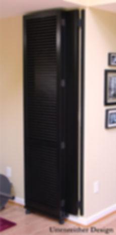 Folded Room Divider
