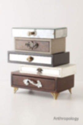 Junk drawers artfully reclaimed