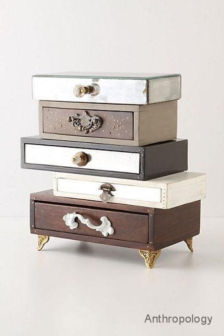 Junk drawers artfully reclaimed