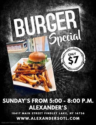 Copy of Copy of Burger Special Flyer - M