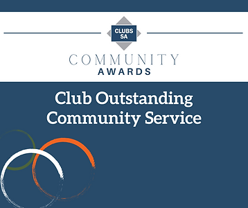 Tile - Club Outstanding Community Servic