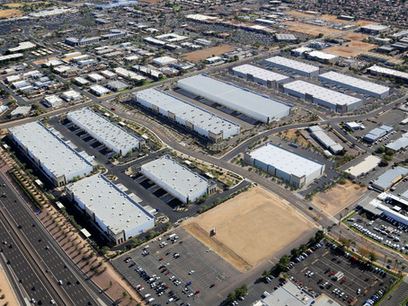 Construction Commences on Third Phase of 1.1 Million SF Metro East Valley Commerce Center