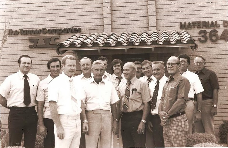Bill Heeter with The Tanner Companies Crew