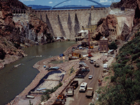 SRP Celebrates the 25th Anniversary of the Modifications to Roosevelt Dam