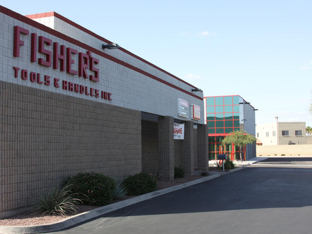 Fisher Tools Expands with New Tempe Warehouse