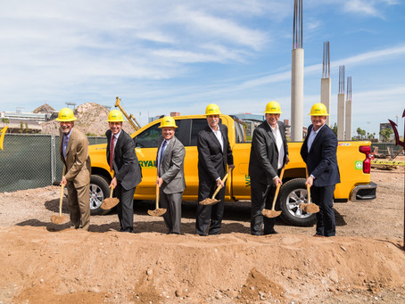 Groundbreaking for Six-Story Office Building in Novus Innovation Corridor on ASU campus