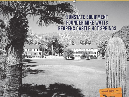 Arizona Contractor & Community Spotlights Sunstate Equipment Founder Mike Watts Reopening of His