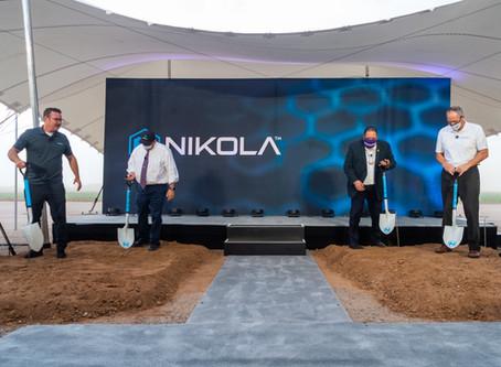 NIKOLA CORPORATION BREAKS GROUND ON COOLIDGE MULTI-PRODUCT FACTORY 4.0 MANUFACTURING FACILITY
