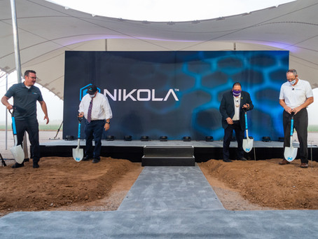 NIKOLA CORPORATION BREAKS GROUND ON COOLIDGE MULTI-PRODUCT FACTORY 4.0 MANUFACTURING FACILITY