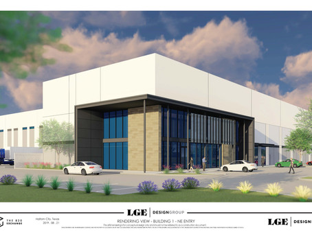 LGE Design Build to Construct Nearly 1 Million Square-Foot Texas Industrial Project