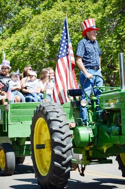 Bill Heeter in the Mayer Days Parade