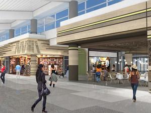 Terminal 3 Renovation Speeds Transit