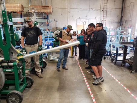 Rosendin Inspires Local Students to Pursue STEM Careers: High school students get insight to constru