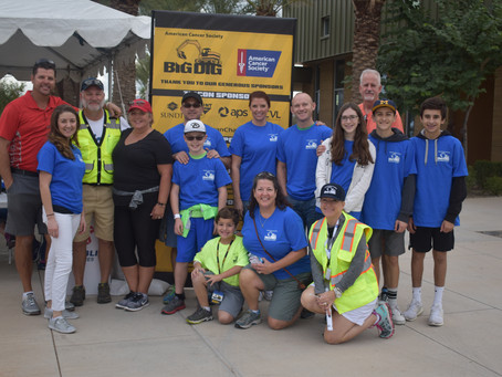 Big Dig in the Desert Raises $$$ for Pediatric Cancer Research