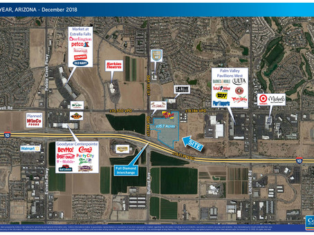 San Diego Developer Pays $6 Million for 36 Acres in Goodyear
