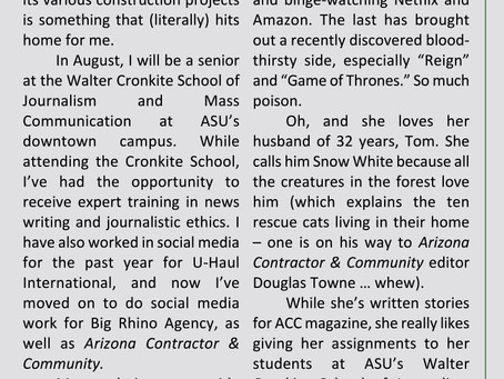 Our Magazine's Important Links to ASU's Walter Cronkite School of Journalism