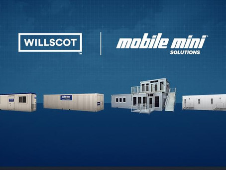 WillScot and Mobile Mini Have United To Become The Leader In Temporary Space And Storage Solutions