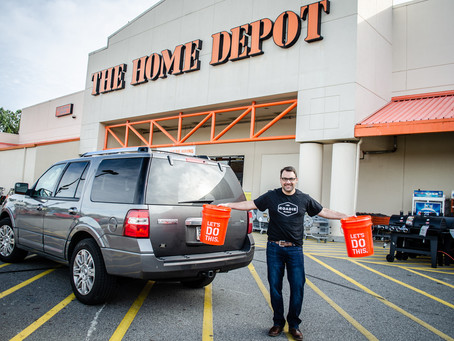 Home Depot & Roadie Offer Same-Day Delivery for Construction Projects