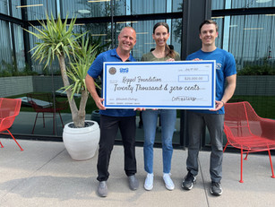 """Two Valley Foundations Join to Raise $20,000 Through""""The Unbreakable Challenge"""""""