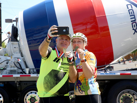 CEMEX works with local cyclists at the 29th Annual El Tour de Mesa