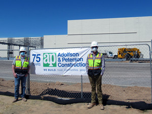 Adolfson & Peterson Construction Tops Out Ridgeview College Prep HS in San Tan Valley
