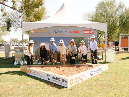 McCarthy Building Companies breaks ground on South Mountain Community College Science Complex