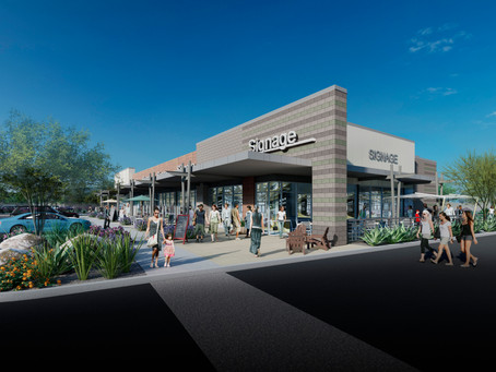 Palmer Development Breaks Ground on The Edge in Scottsdale: Mixed-Use Office & Retail Project to