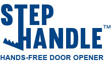 StepHandle™ FOOT-OPERATED DOOR OPENERS HIT THE MARKET: Avoid Viruses and Germs, Keep Workers and Cus