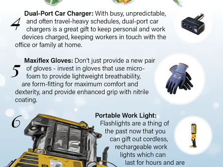 11 Holiday Gifts for Construction Workers Compiled by Equipment Trader