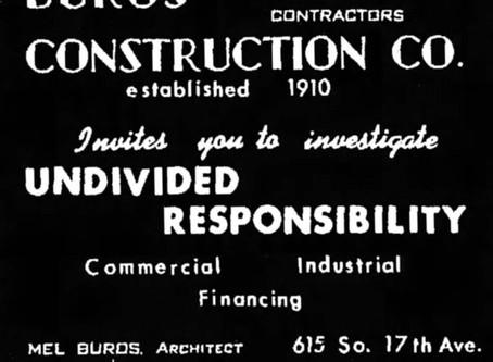Inventive Contractors: Buros Construction Co.
