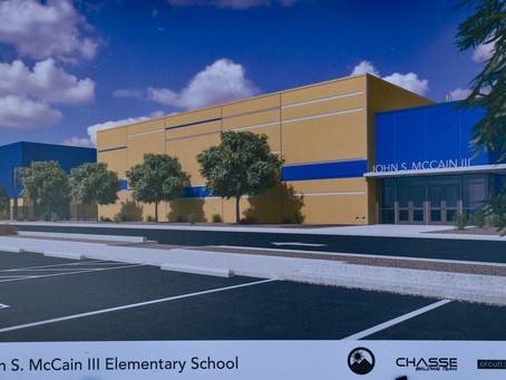 Chasse Set to Build John S. McCain III Elementary School in Buckeye