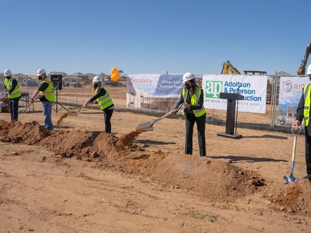 Adolfson & Peterson Construction and Leona Group Break Ground on Ridgeview College Prep High School