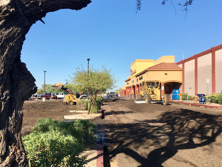 Sunnyslope Fry's Gets New Parking Lot