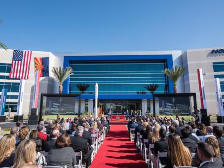 Allred, Willmeng launch Northrop Grumman's new Chandler Campus